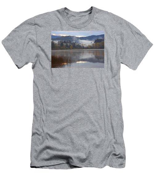 Early Morning Men's T-Shirt (Slim Fit) by Elvira Butler