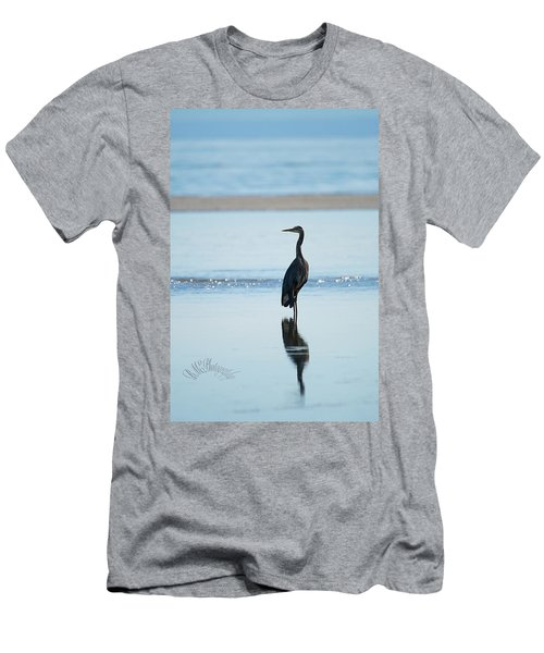 Early Morning Heron Men's T-Shirt (Athletic Fit)