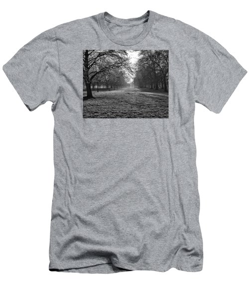 Early Morning In Hyde Park 16x20 Men's T-Shirt (Athletic Fit)