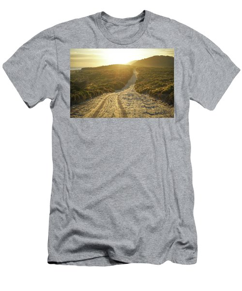 Early Morning Light On 4wd Sand Track Men's T-Shirt (Athletic Fit)