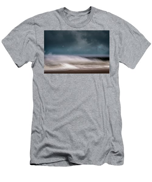 Early Spring At Nauset Beach Men's T-Shirt (Athletic Fit)