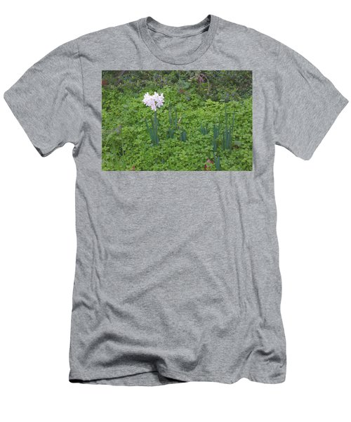 Early Spring Garden Flowers Men's T-Shirt (Athletic Fit)
