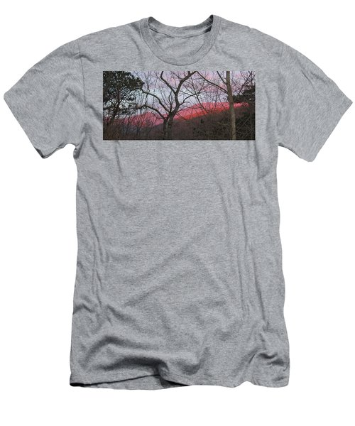 Men's T-Shirt (Slim Fit) featuring the photograph Early Spring Sunrise by Tammy Schneider