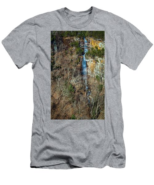 Early  Spring Waterfall  Men's T-Shirt (Athletic Fit)
