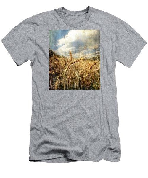 Ears Of Corn Men's T-Shirt (Slim Fit)