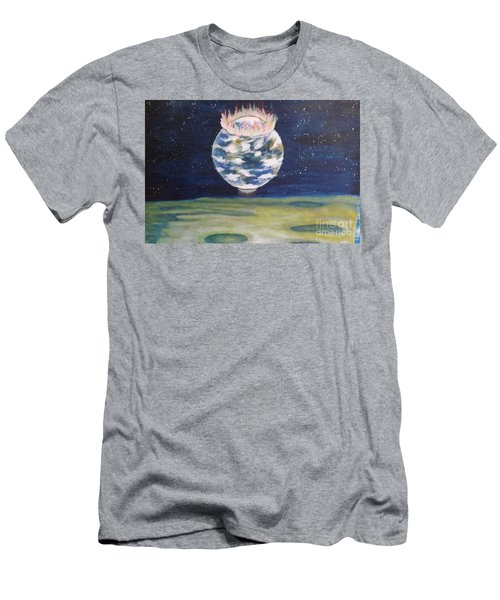 Earth Aura Men's T-Shirt (Athletic Fit)
