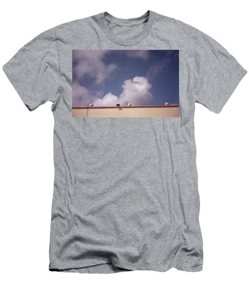 Earth Calling Sky  Men's T-Shirt (Athletic Fit)