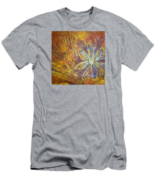 Earth Flower Men's T-Shirt (Slim Fit) by Tracy Bonin