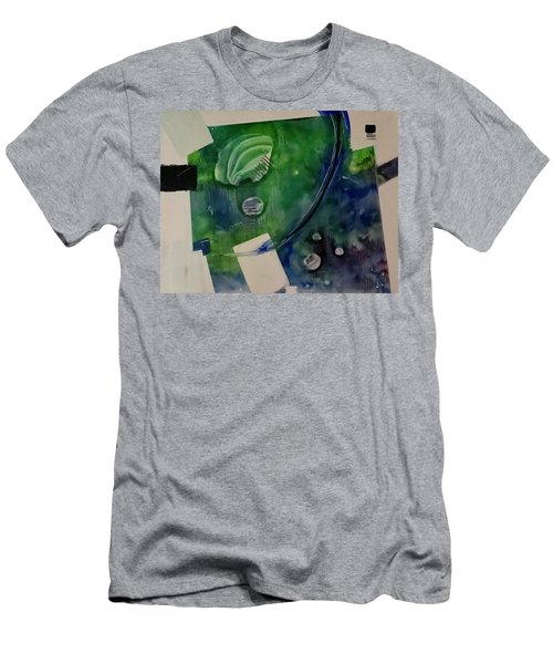Earth Over Sky Men's T-Shirt (Athletic Fit)