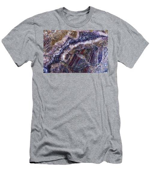 Earth Portrait 001-176 Men's T-Shirt (Athletic Fit)