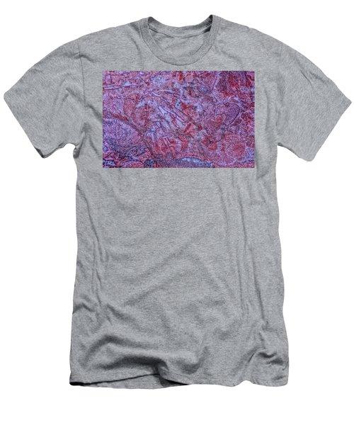 Earth Portrait 257 Men's T-Shirt (Athletic Fit)