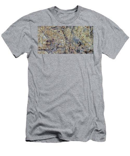 Earth Portrait L1 Men's T-Shirt (Athletic Fit)