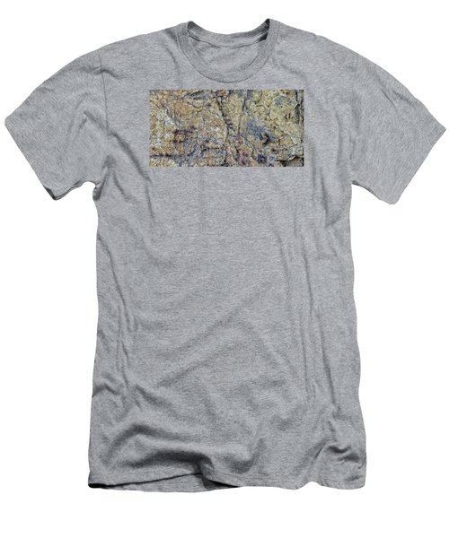 Earth Portrait L1 Men's T-Shirt (Athletic Fit)