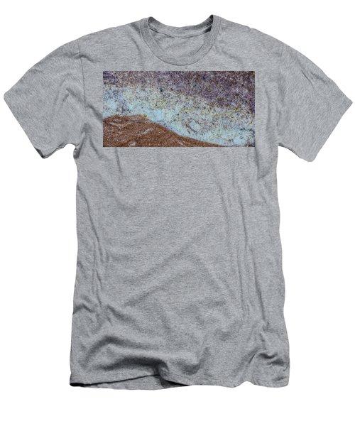 Earth Portrait L3 Men's T-Shirt (Athletic Fit)