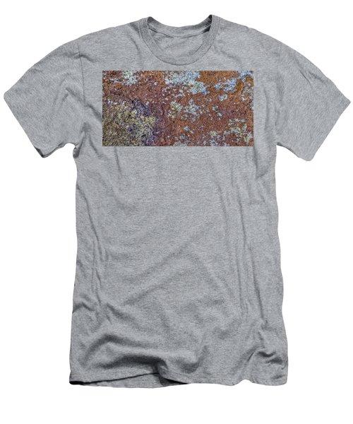 Earth Portrait L6 Men's T-Shirt (Athletic Fit)