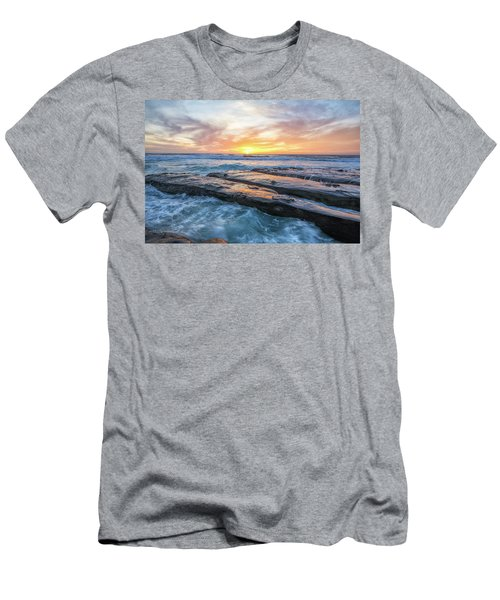 Earth, Sea, Sky Men's T-Shirt (Slim Fit)