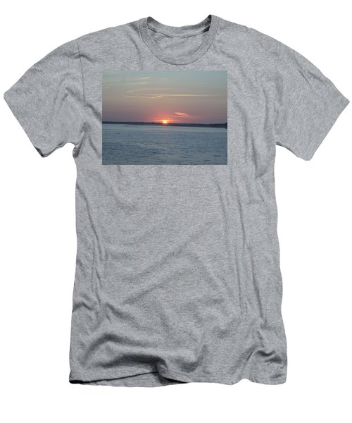 Men's T-Shirt (Slim Fit) featuring the photograph East Cut by Newwwman