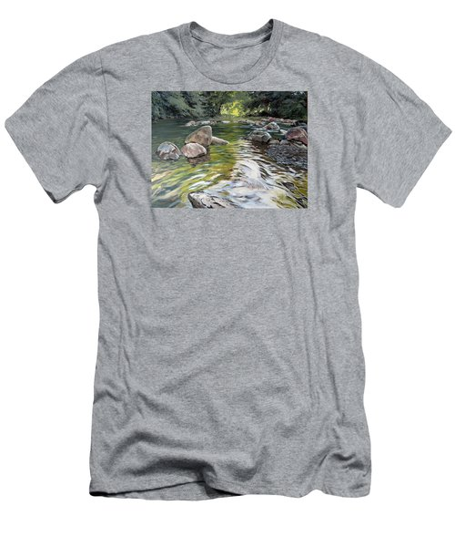 East Okement River Men's T-Shirt (Athletic Fit)