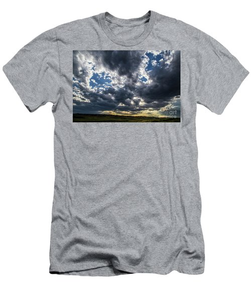 Eastern Montana Sky Men's T-Shirt (Athletic Fit)