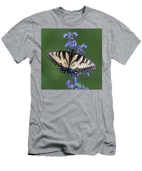 Eastern Tiger Swallowtail Wingspan Men's T-Shirt (Athletic Fit)
