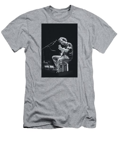 Eddie Vedder Playing Live Men's T-Shirt (Athletic Fit)
