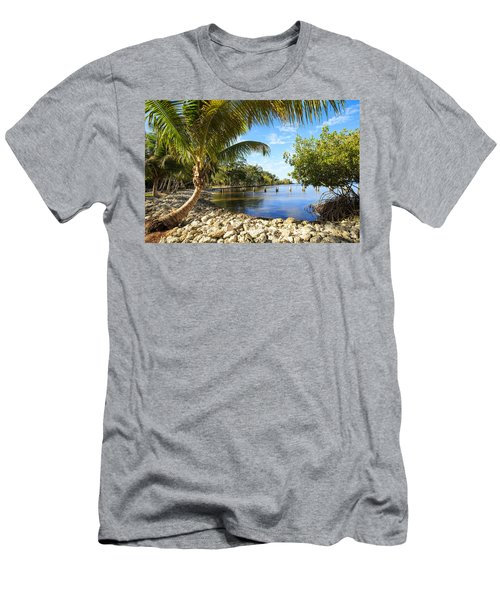 Edisons Back Yard Men's T-Shirt (Athletic Fit)