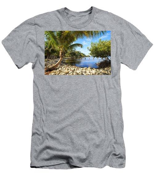 Edisons Back Yard Men's T-Shirt (Athletic Fit)