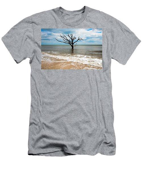 Edisto Island Tree Men's T-Shirt (Slim Fit) by Robert Loe