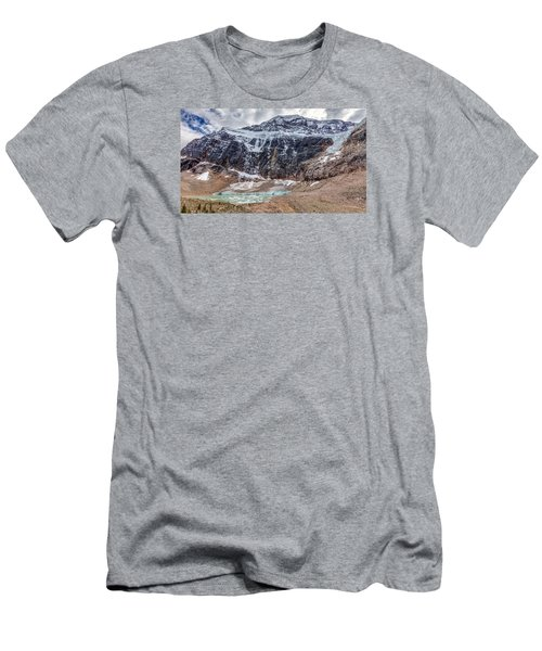 Edith Cavell Landscape Men's T-Shirt (Athletic Fit)