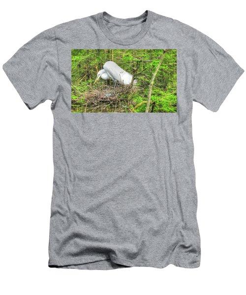 Egrets And Eggs Men's T-Shirt (Athletic Fit)