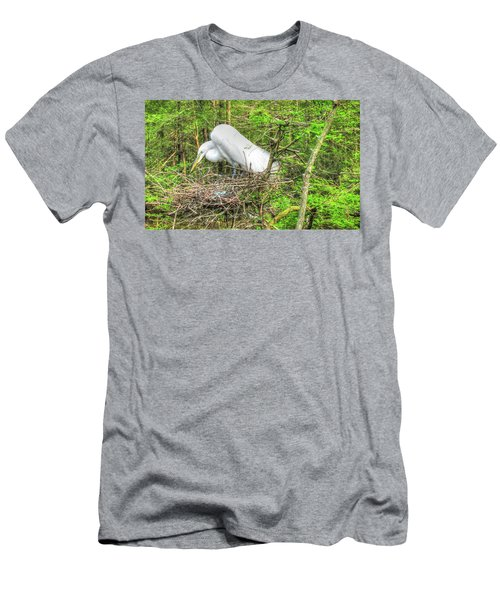 Egrets And Eggs Men's T-Shirt (Athletic Fit)