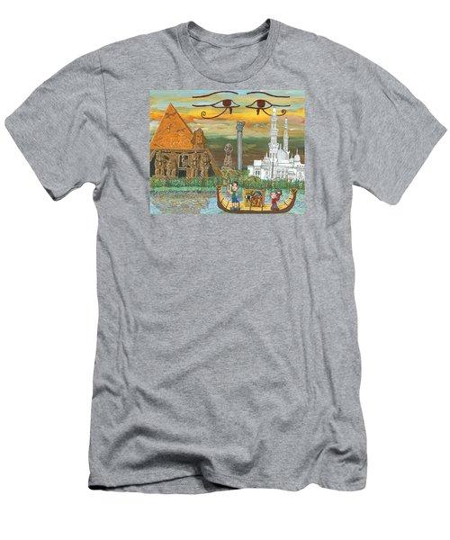 Egypt   Jan Men's T-Shirt (Athletic Fit)