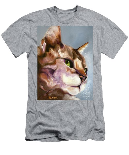 Egyptian Mau Princess Men's T-Shirt (Athletic Fit)