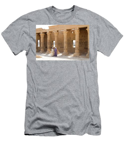 Men's T-Shirt (Athletic Fit) featuring the photograph Egyptians by Silvia Bruno