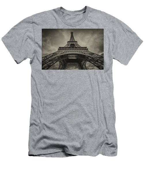 Eiffel Tower 1 Men's T-Shirt (Athletic Fit)