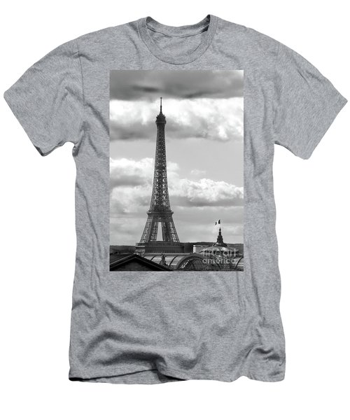 Eiffel Tower From Galeries Lafayette Rooftop Men's T-Shirt (Athletic Fit)