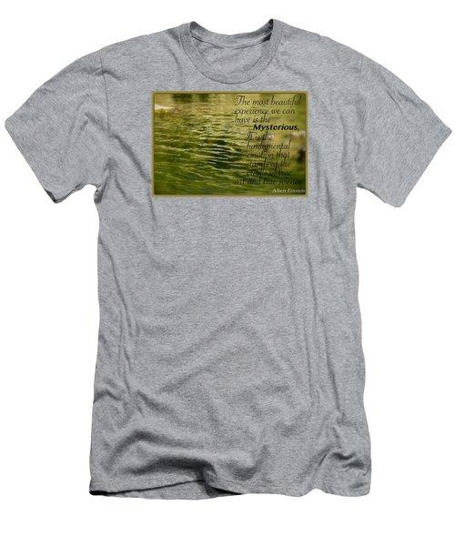 Einstein Mysterious Men's T-Shirt (Athletic Fit)