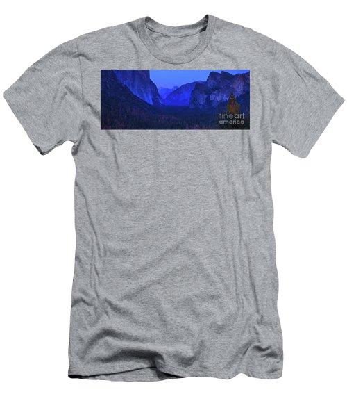 El Capitan Blue Hour Men's T-Shirt (Athletic Fit)