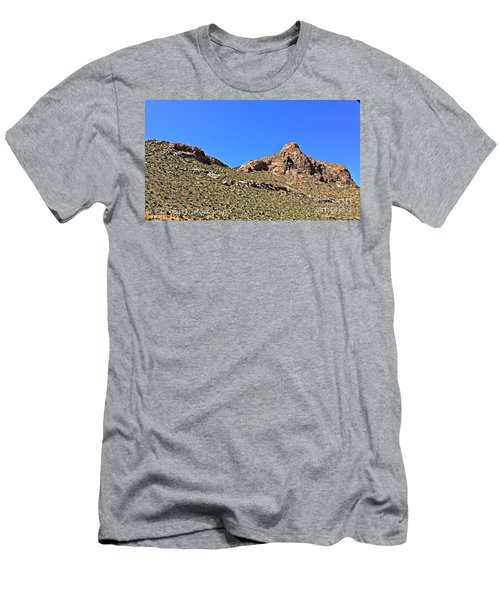 Men's T-Shirt (Slim Fit) featuring the photograph El Paso's  Pali - No. 2016 by Joe Finney