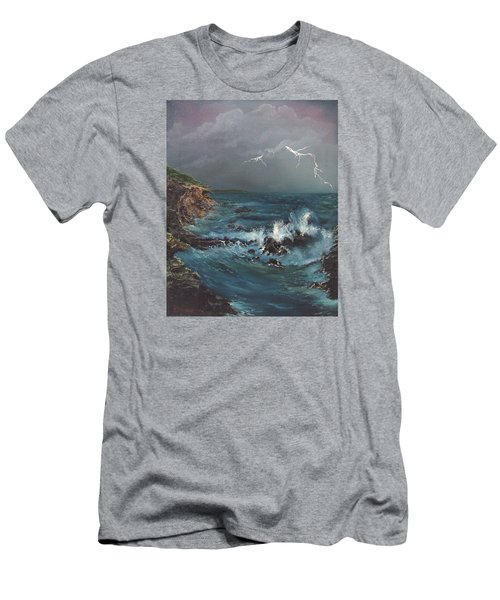 Electric Sky Men's T-Shirt (Athletic Fit)