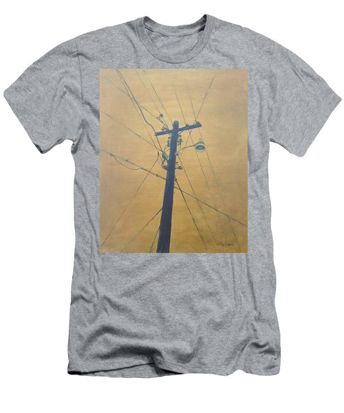 Electrified Men's T-Shirt (Slim Fit) by T Fry-Green