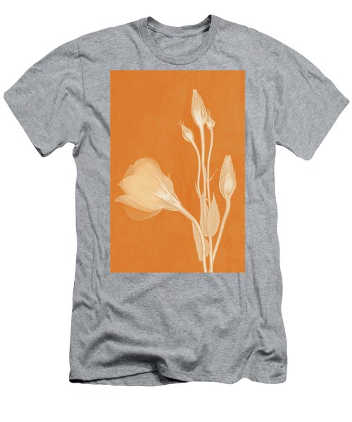 Elegance In Apricot Men's T-Shirt (Athletic Fit)