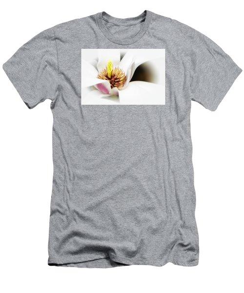 Men's T-Shirt (Athletic Fit) featuring the photograph Elegant Magnolia by Ken Barrett