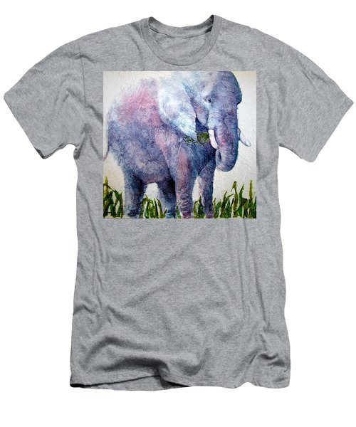 Elephant Sanctuary Men's T-Shirt (Athletic Fit)