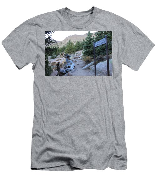 Men's T-Shirt (Slim Fit) featuring the photograph Elevation 11,500 by Christin Brodie