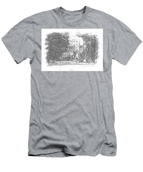 Ellaville, Ga - 1 Men's T-Shirt (Athletic Fit)