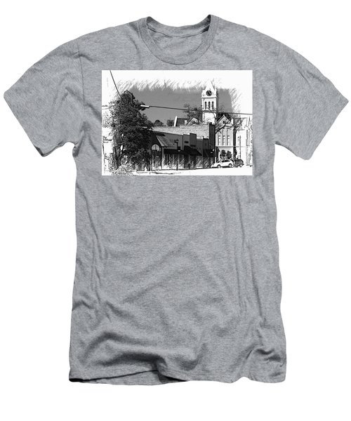Men's T-Shirt (Slim Fit) featuring the photograph Ellaville, Ga - 3 by Jerry Battle