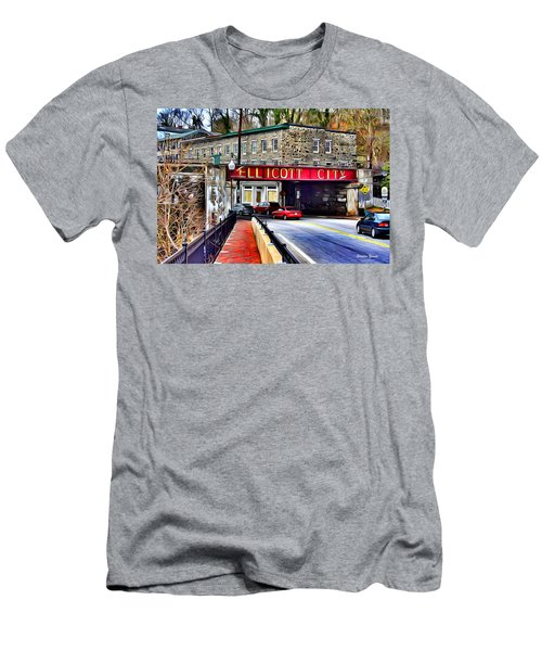 Ellicott City Men's T-Shirt (Athletic Fit)