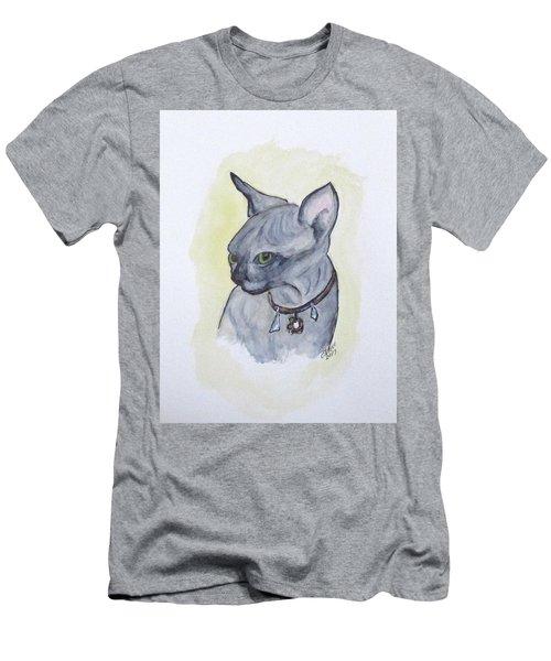 Else The Sphynx Kitten Men's T-Shirt (Athletic Fit)
