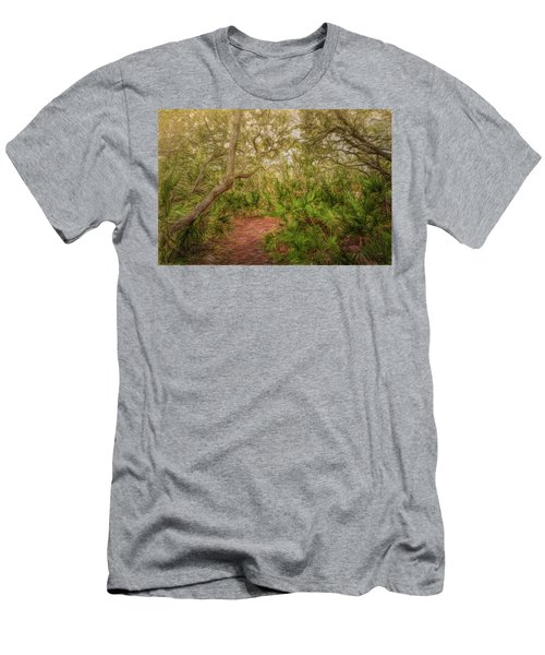 Men's T-Shirt (Athletic Fit) featuring the photograph Embrace The Journey by John M Bailey